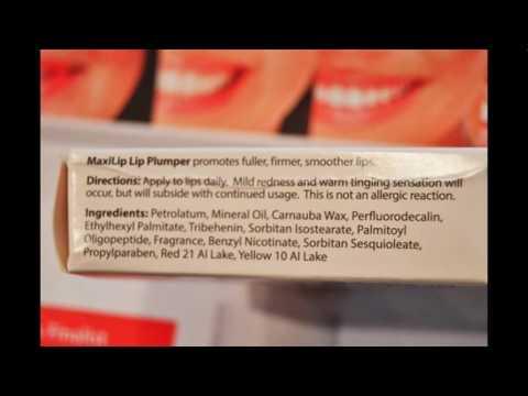 Vivant Skin Care's Maxilip Lip Plumper