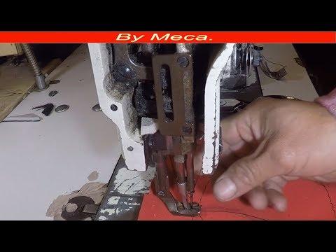 Sewing Machine Needle Bar Adjustmen Tips #29. industrial sewing Machine.