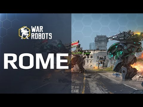 War Robots in ROME! 🔥 NEW MAP in WR update 4.0