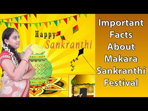 Important Facts About Makara Sankranthi Festival
