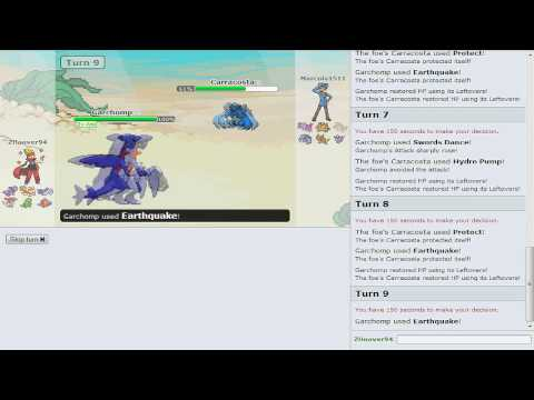 Pokemon Showdown Battle Series [OU] - Battle #4