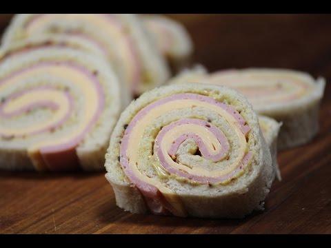 Ham and Cheese Pinwheels | Sanjeev Kapoor Khazana