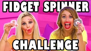 Download Fidget Spinner Toy Challenge with Jenn and Lindsey. Totally TV Video
