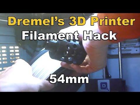 Dremel Filament-Hatchbox Hack fits Idea Builder Model 3D20