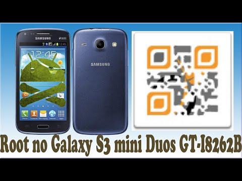 Root no Galaxy S3 mini Duos GT-I8262B