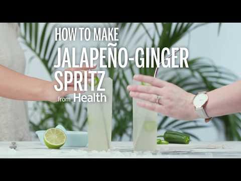 How To Make A Jalapeno Ginger Spritz | Health