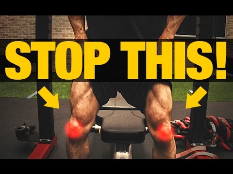 How to Squat with Patellar Tendonitis (NO MORE PAIN!)