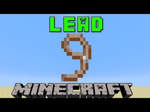 How To Make A Lead in Minecraft | 1.8 Update