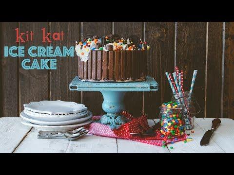 Candy Shop Kit Kat Ice Cream Cake
