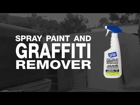 How to Remove Spray Paint and Graffiti with Motsenbocker's Lift Off