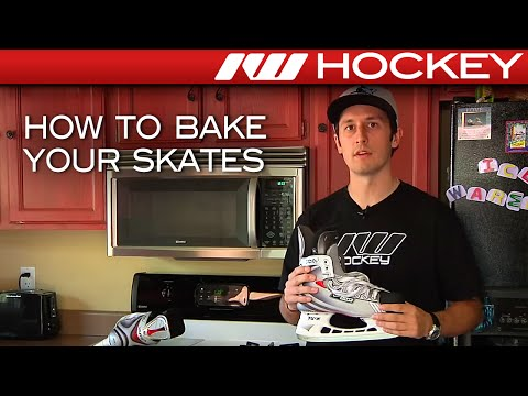How to Bake Your Hockey Skates at Home