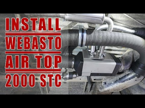 How to Install a Webasto Air Top 2000 STC on a VW Westfalia (replacing the old  Eberspacher)