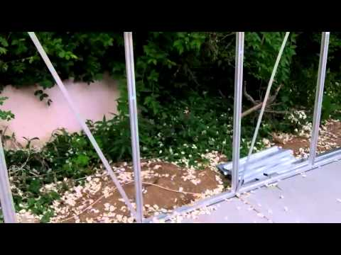 Building a Greenhouse: How to raise the greenhouse