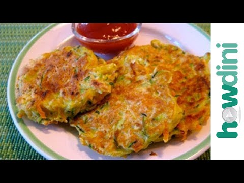 How to make veggie pancakes