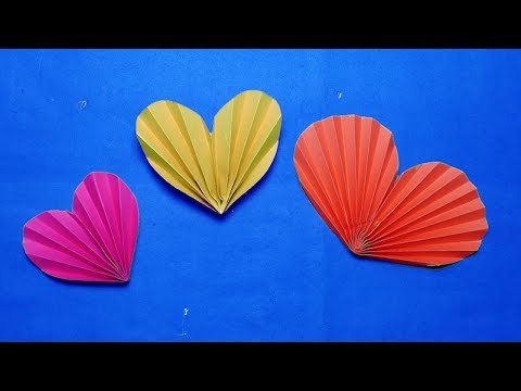 paper Heart origami#How to make origami 3d paper Heart  Easy?paper craft.