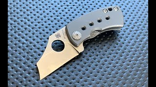 Spyderco McBee - Just how small is it? (TWSS Overview