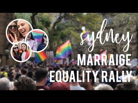 VLOG: Marriage Equality Rally Sydney