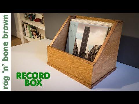 Making A Vinyl Display Box