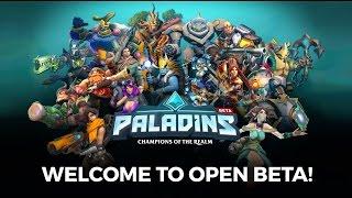 Отмечаем 9 мая в игре Paladins (Сервера накрылись,поехали мы в пиратскую кс го:3)