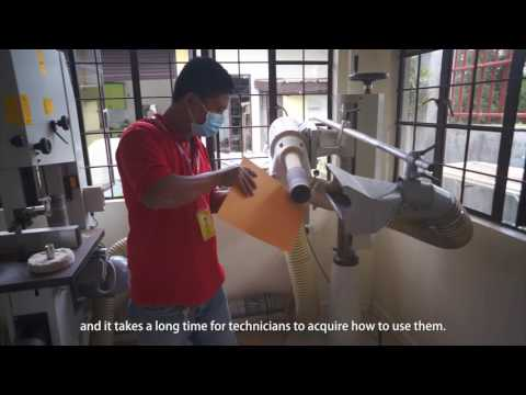 Super low cost prosthetic leg using 3D scan and print technology in the Philippines
