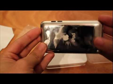 My first unboxing video: Apple iPod 8GB Touch