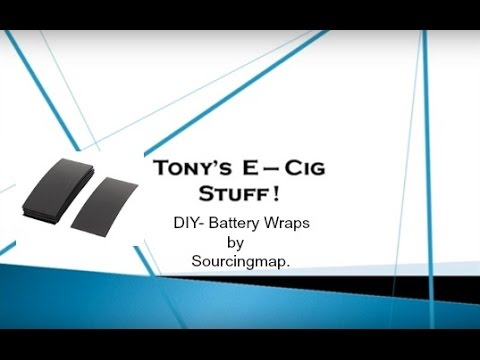 DIY - Battery Wraps Tutorial.