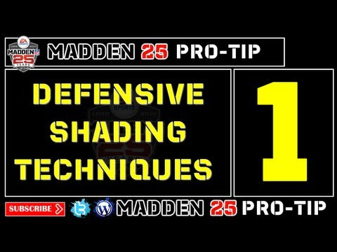 Madden 25 Pro-Tip #1: Defensive Shading Techniques Pt. 1