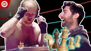 Scott Rogowsky Shows You Weird Sports | Chessboxing