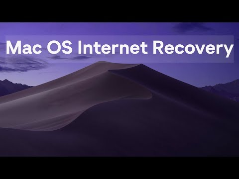 How to install Mac OSX from the Internet Recovery | Tutorial