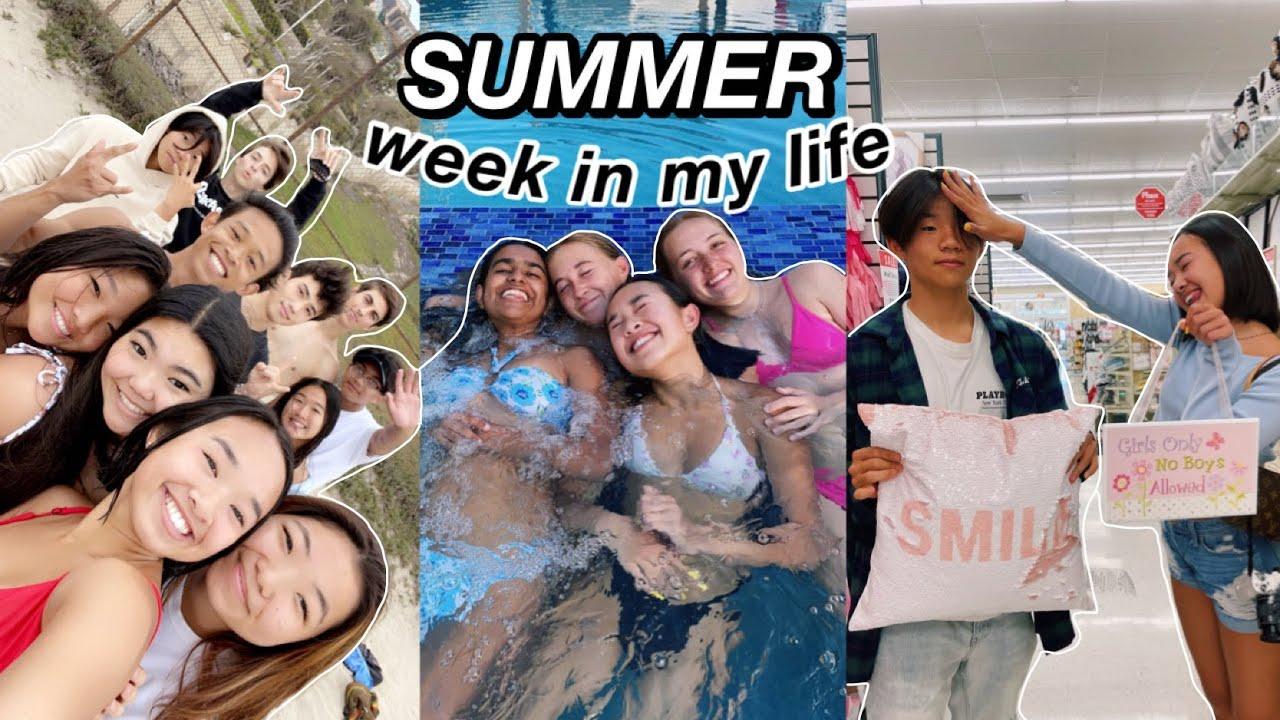 week in my life during SUMMER 2021 | Nicole Laeno
