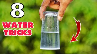 8 Amazing Water Experiments At Home || Easy Science Experiments With Water