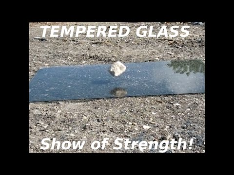 Tempered Glass Shock/Strength Testing