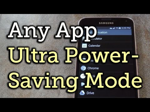 Use Any App in Ultra Power-Saving Mode - Samsung Galaxy S5 + Galaxy Note 3 [How-To]