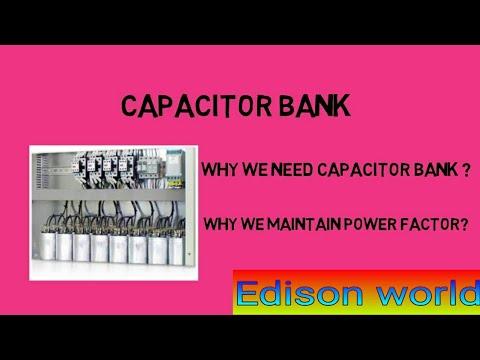 why we need capacitors bank/capacitor bank explanation simple way