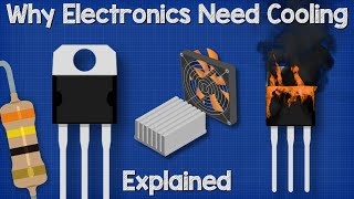 Why Electronics Need Cooling - transistor heat sink