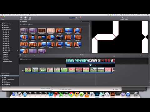 How to Add a Countdown Clock in iMovie