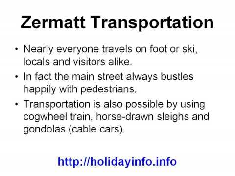 Zermatt Vacations
