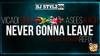 Vicadi Singh X Asees Kaur - Never Gonna Leave (Dj Stylz UK Remix)