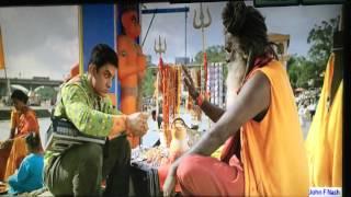 Amir Khan Zanjeer Matam in PK movie song