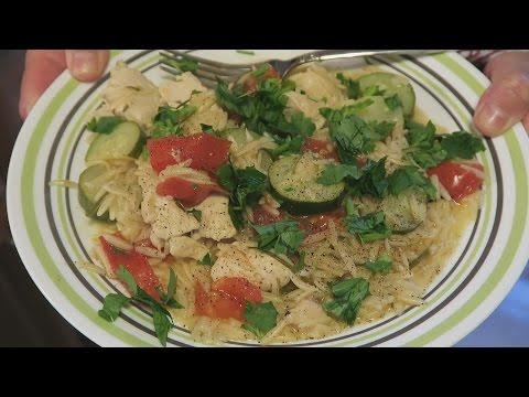 Angelo's Mom Makes Lemon Rosemary Chicken w/ Orzo Pasta