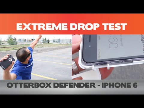 iPhone 6 Extreme Drop Test (40ft) - Otterbox Defender