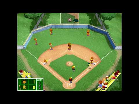 Backyard Baseball 2001: Bombers vs Athletics (Commentary)