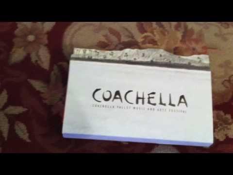 2011 Coachella Pass Unboxing