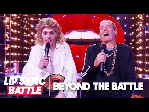 Michael Bolton & Pete Davidson of SNL Go Beyond the Battle | Lip Sync Battle