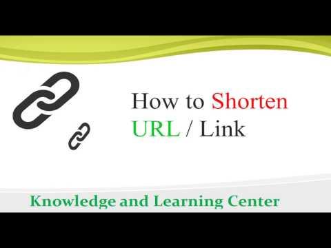 How to Get Short URL of a Long URL-Shorten URL