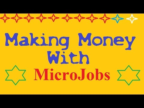 How To Make Money From The Micro Job Sites