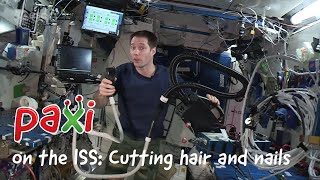 ESA Kids: Cutting hair and nails in space