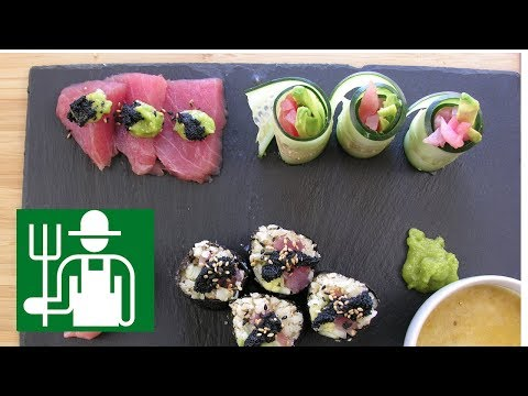 Keto Sushi   Low carb rice   Volcano Aioli Sauce
