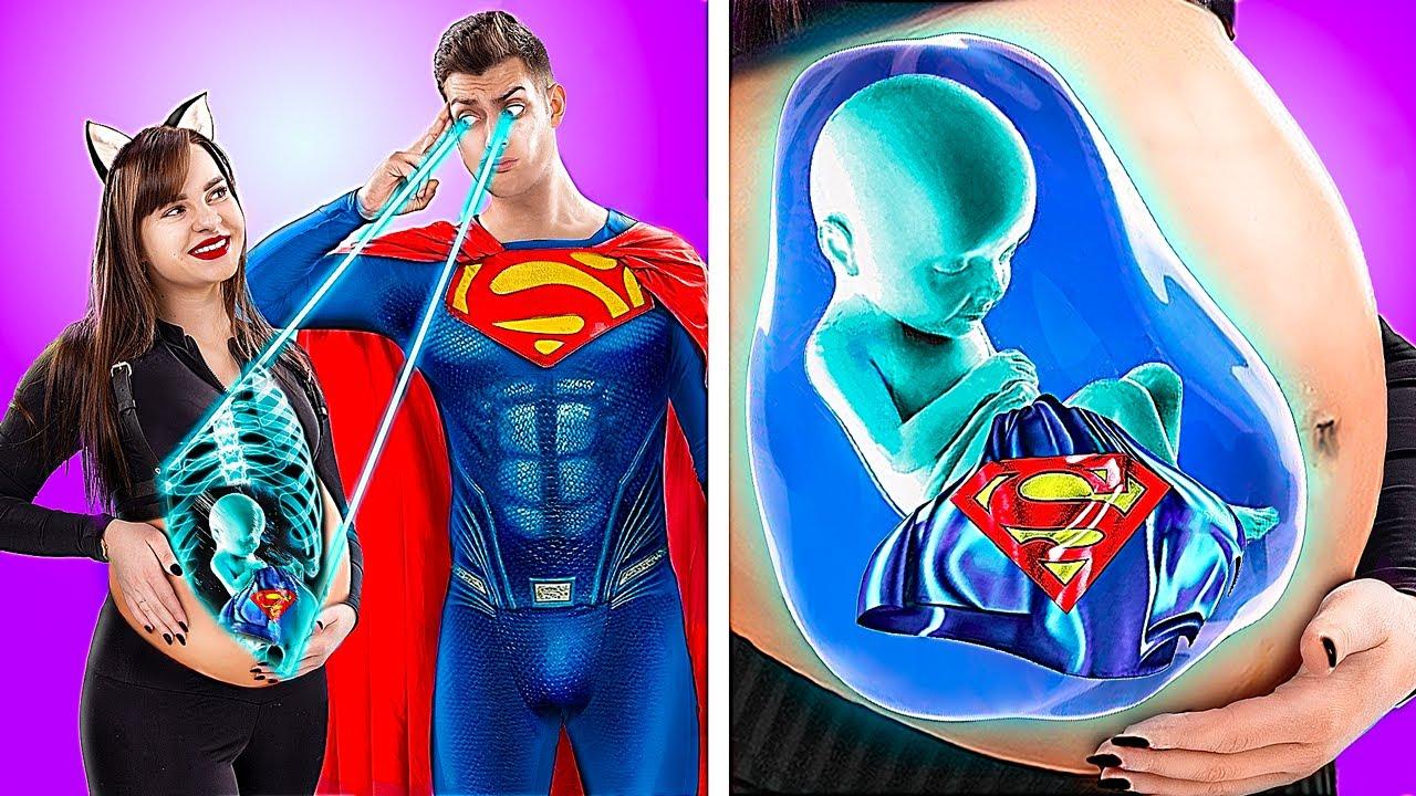 ¡Superhéroinas Embarazadas! ¡14 Situaciones Divertidas De Embarazo!