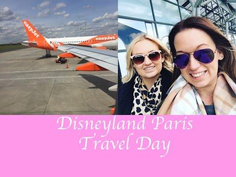 Disneyland Paris April 2016 Travel Day